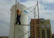 Serviicos pintura fumigaciones limpieza estructuras edificaciones tanques y cisternas de agua