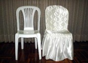 Alquiler de sillas y mesas para eventos sociales a domicilio