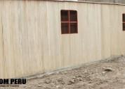 Campamentos mineros modulares peru