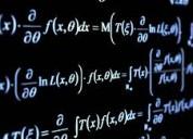 Clases de matematicas / san borja, surco, la molina.