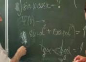 Tutoria en matematicas a grupo de estudiantes/ ate-vitarte.