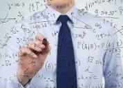 Reforzamiento en matematicas/ la molina, surco, san borja.
