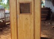 Casetas de madera para baño