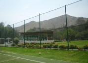 redes para pesca y campos deportivos