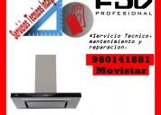 980141881 fdv campanas extractoras mantenimiento lima