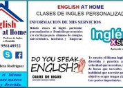 Clases particulares de ingles - clases personalizadas - lic roy meza