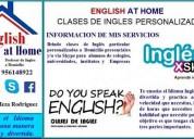 Clases particulares de ingles en casa - clases personalizadas - lic roy meza