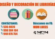 LibrerÍas, diseÑo y decoraciÓn - atenciÓn a nivel nacional