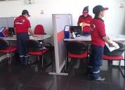 Personal de limpieza 991764117  seguridad 24 horas , empresas, restaurantes.
