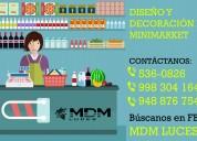 Minimarket, diseÑo y decoraciÓn - atenciÓn a nivel nacional