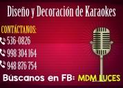 Karaoke, diseÑo y decoraciÓn - atenciÓn a nivel nacional
