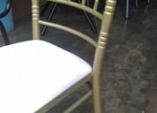 Remato sillas metalicas tiffany