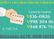 Farmacias, diseÑo y decoraciÓn - atenciÓn a nivel nacional