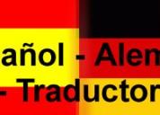 Traductor nativo de aleman/ español/ 955071495