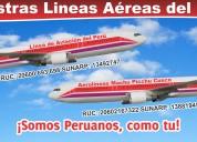 Aerolíneas machu picchu cusco, la mejor aerolineas del perÚ