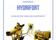 Maquina hydrifort de perforación
