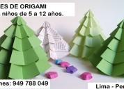 Clases divertidas de origami para niños