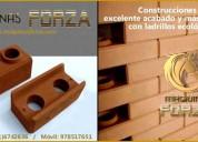 Ladrilleras manuales y automÁticas para ladrillo ecolÓgico