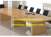 Mesa de melamina - mesa de conferencia - mesa de directorio