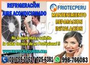 Asesoria tecnica 7590161 instalación de aire acondicionado  - lince