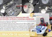 Calibracion de audiometro