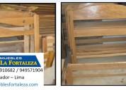 Camarote de madera - camarote para mina