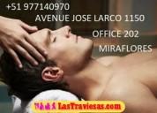 Centro de masajes (personal masculino) relajense con nosotros peru hair salon - miraflores