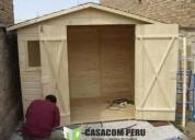 Modulos de madera para almacen en lima