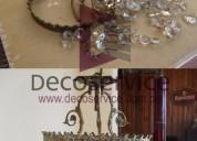 991153920 reconstrucción y confección de arañas y lamparas de cristal