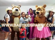 show infantil de masha  y el oso  en ate  vitarte . baby kids party . 945369375 – angel muÑoz