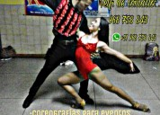 Clases de baile salsa y bachata particulares, eventos, coreografias