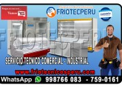 Servicio tecnico de refrigeracion 7256381 camaras frigorificas – lima