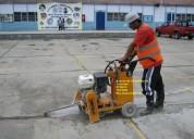 Alquiler de cortadora de concreto/asfalto