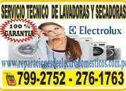≈técnicos electrolux≈7378107≈reparaciones de secadoras en san borja