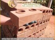 Maquinas para hacer ladrillos ecologicos