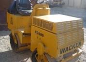 Se alquila rodillo compactador de 1.5 y 3 toneladas