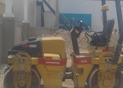 alquiler y venta  rodillo compactador de 05 toneladas