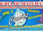 Academia de matemÁticas ciencias