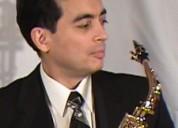 Saxofonista en lima