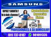 «soporte técnico de lavadoras samsung»7378107 en miraflores