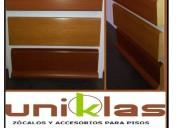 Zocalos de madera y mdf para pisos de madera y laminados