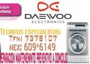 «soporte técnico de lavadoras daewoo»7378107«en villa maría del triunfo