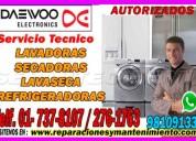 Servicio técnico de lavadoras daewoo**7378107**en jesús maría