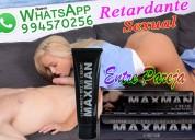Maxman crema retardante agranda el pene sexshop tlf: 01 4724566 - 994570256