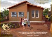 Mejores viviendas y a menor costo con ladrillo ecologico