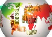 Traducciones inglés, francés y portugués