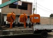 Mezcladora concreto trompo 11p3 motor gasolina 16hp s/. 3,480.00 (998368848)(999097204)