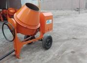 Mezcladora concreto trompo 11 p3 motor gasolina 16hp s/. 3,480.00 (999097204)