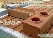 Venta de maquinas para ladrillos de suelo y cemento