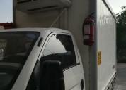 Se alquila camioneta h-100 con furgon frigorifico